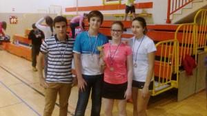 Ekipno občinsko prvenstvo v badmintonu