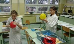 Larisa, Katja in baloni