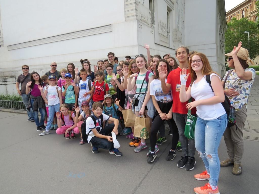 Obiskali smo Dunaj in si ogledali …
