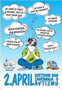 Svetovni dan zavedanja o avtizmu – vabilo