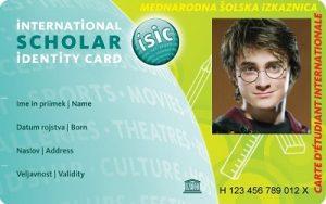 Šolska ISIC kartica