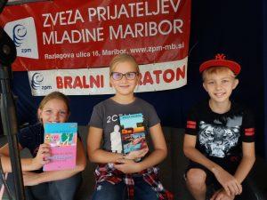 Šestošolci so se udeležili Bralnega maratona