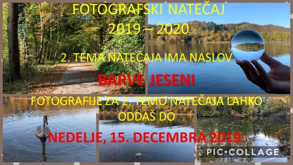 Fotografski natečaj 2019/2020