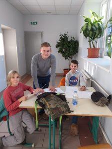 Naši debaterji na turnirju v Mariboru