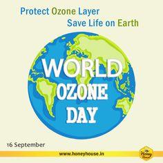 16. september je mednarodni dan ohranjanja ozonskega plašča