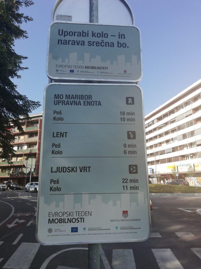 Prispevek limbuških učencev na ulicah Maribora