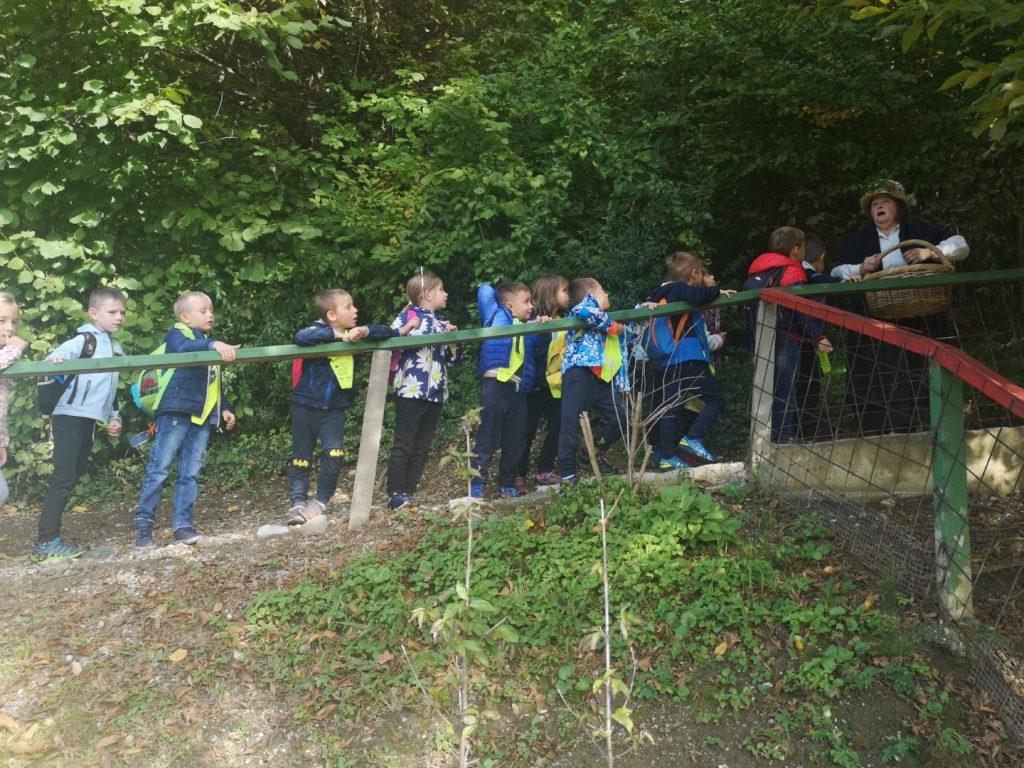 Prvošolci so bili v pravljičnem gozdu