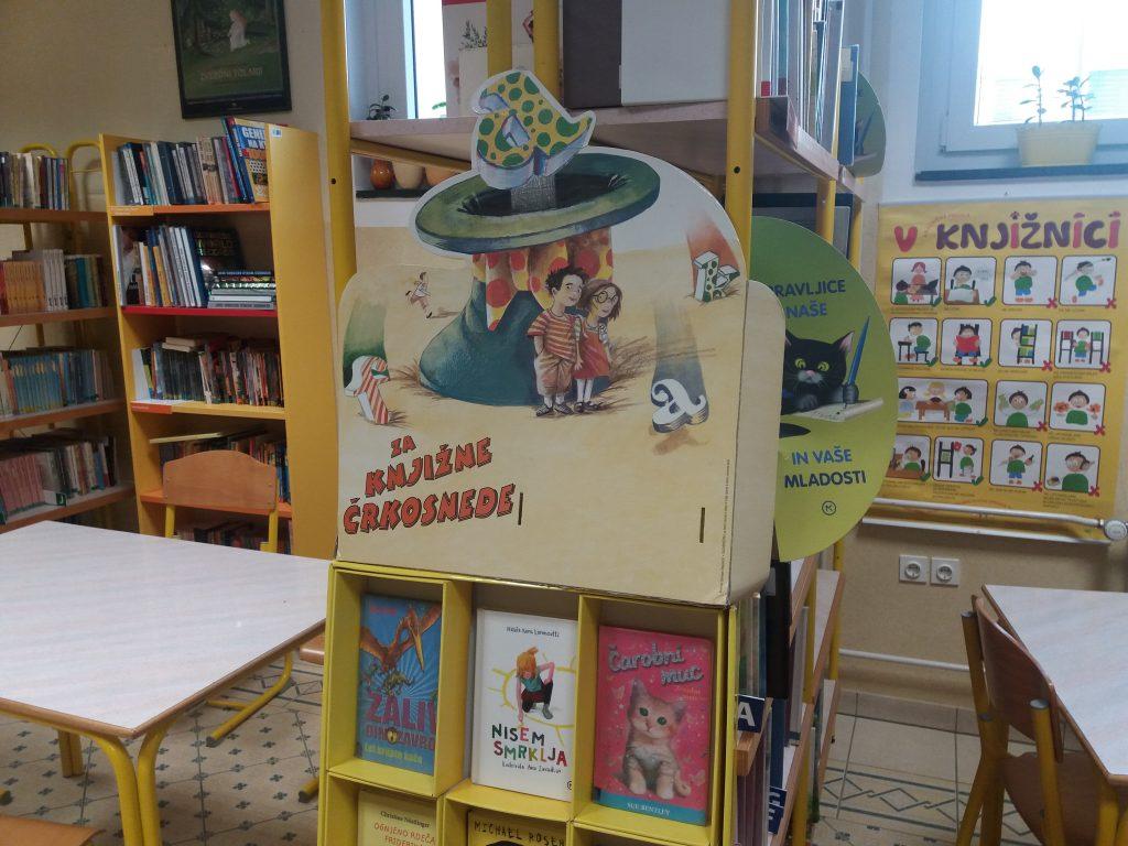 Šolska knjižnica, izposoja knjig, bralna značka in še kaj…