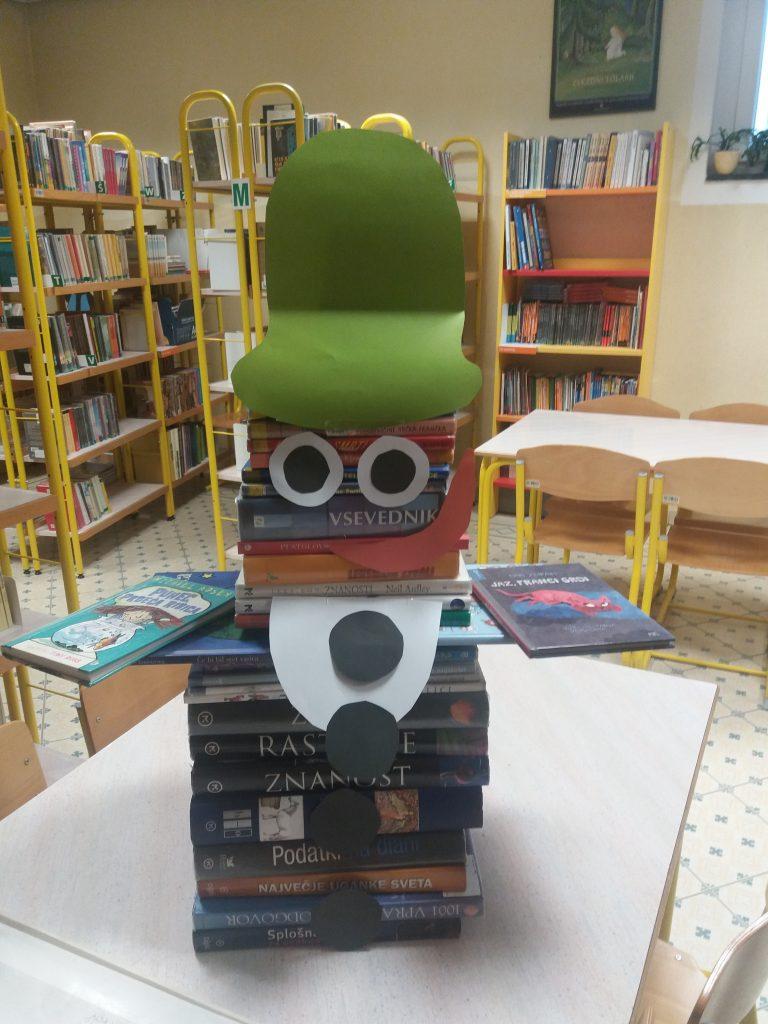 Pozdrav iz šolske knjižnice