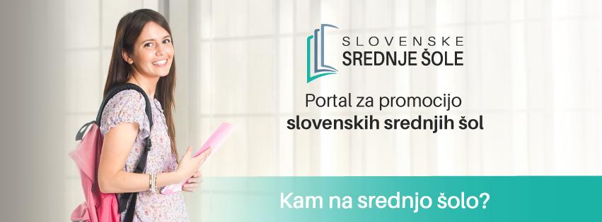 Portal za promocijo slovenskih srednjih šol